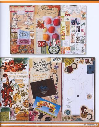How to make a journal from catalog