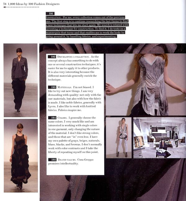 Craftside: #191-195 of 1000 Ideas by 100 Fashion Designers by Carolina ...