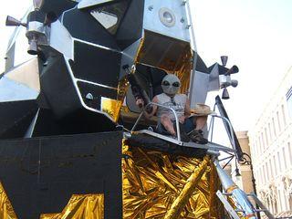 Lunar landing model global effects