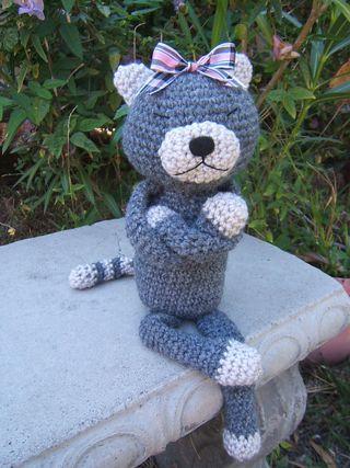 Amineko crochet cat stefanie