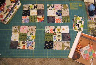 How to sew fabric patch potholders