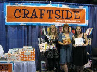 Craftside books cha summer 2010