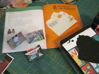 Sizzix die cut envelope recycled paper