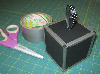 Duck tape sizzix twist cube