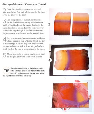How to blend colors polymer clay