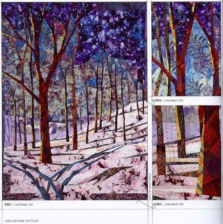 Top stitched art quilts 1000 textiles