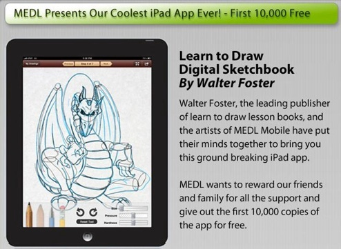 Craftside: Walter Foster has a new app for the iPad: Learn
