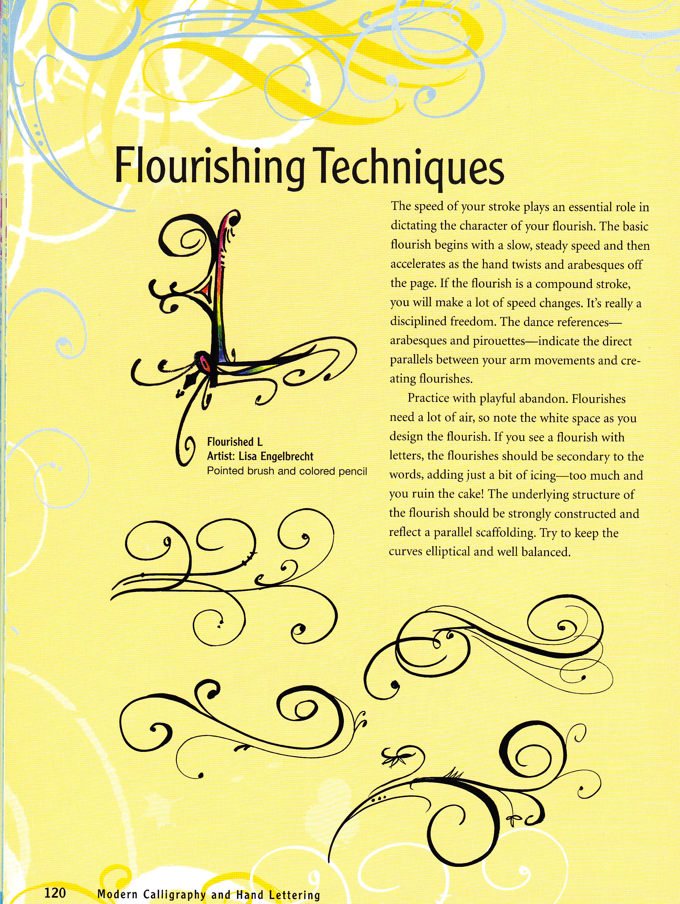 How To Make Flourishes Techniques If You Are Into Hand Lettering
