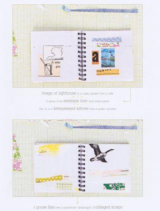 How to make mini collage art
