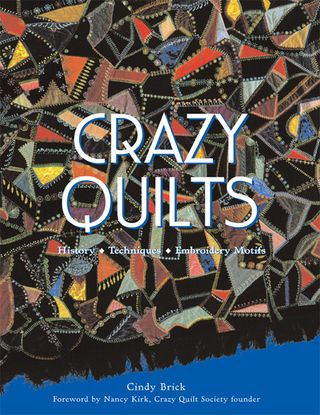 How to crazy quilt book