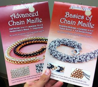 Chain maille lady how to