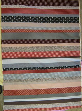 How to make a roman stripe quilt