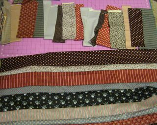 How to sew a roman stripe quilt