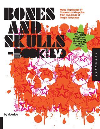 Bones and skulls clip art book cd