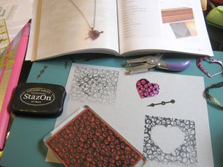 How to stamp on recycled plastic
