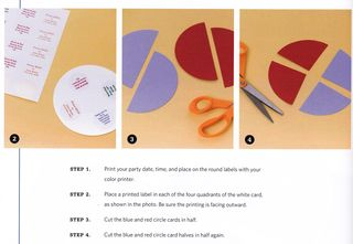 How to make a spinning invitation card
