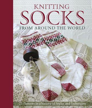 Knitting socks from around world patterns