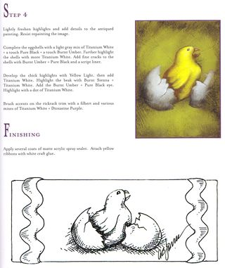 How to draw chick egg hatch easter