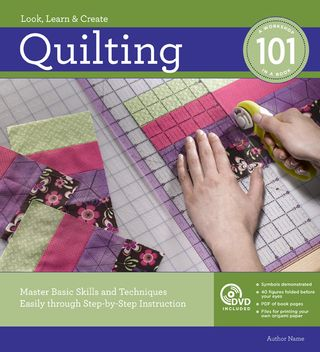 How to quilt book and video 101