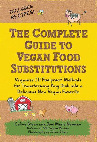 Vegan food substitutions recipes