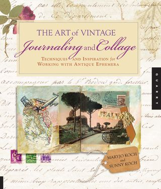 Art of vintage journaling and collage
