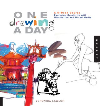 One drawing a day by veronica lawlor