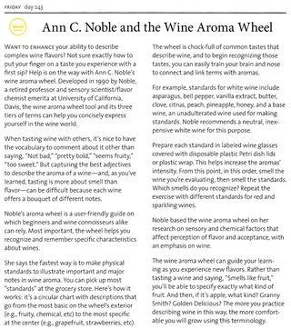 Ann c noble wine aroma wheel