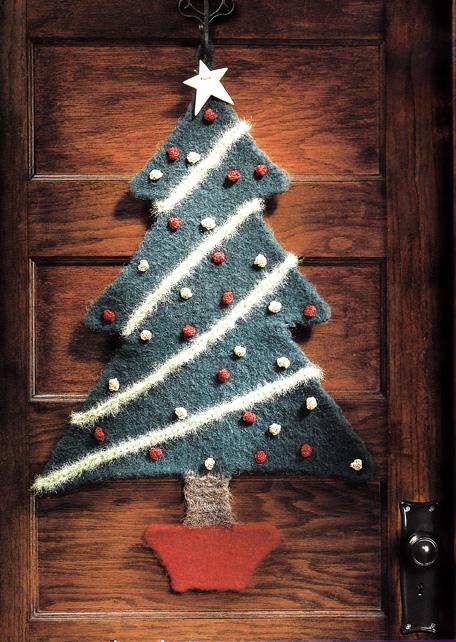 Fabric Christmas Tree Pattern