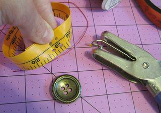 How to make tape measure bracelet