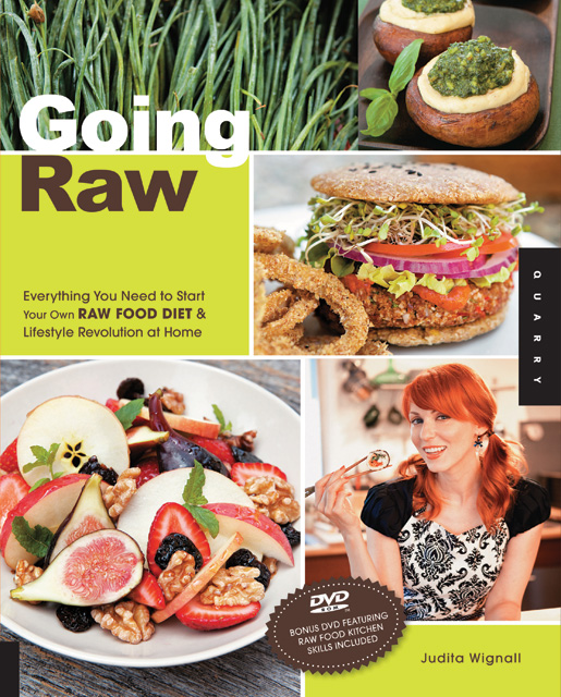 How to use a dehydrator to make crackers from the book going raw by going raw everything you need to start your own raw food diet and lifestyle revolution at home by judita wignall go raw get radiant start a revolution forumfinder Gallery