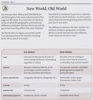 Old world new world wine difference