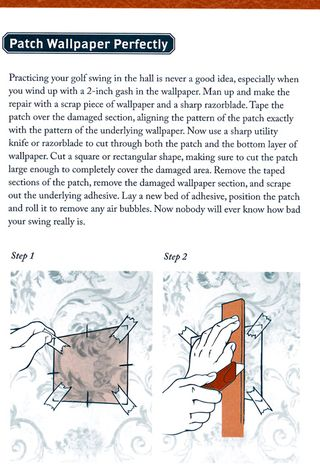 How to patch wallpaper perfectly