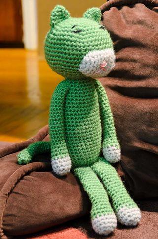 Nip-4724 amineko crochet cat