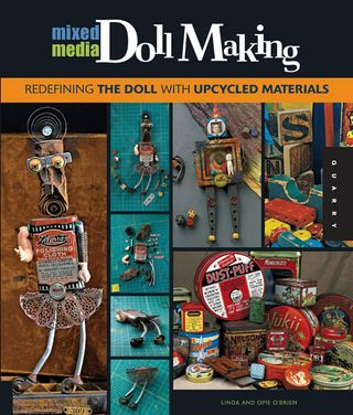 Mixed-media doll making dada