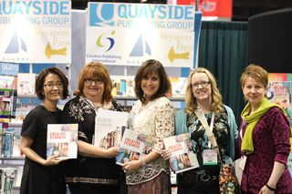 Authors in Quayside booth cha 2012