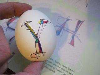 Lisa engelbrecht lettering eggs