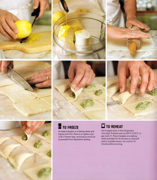 How to make healthy spanakopita pastry