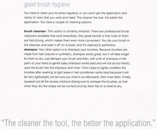 How to clean your makeup brushes with shampoo
