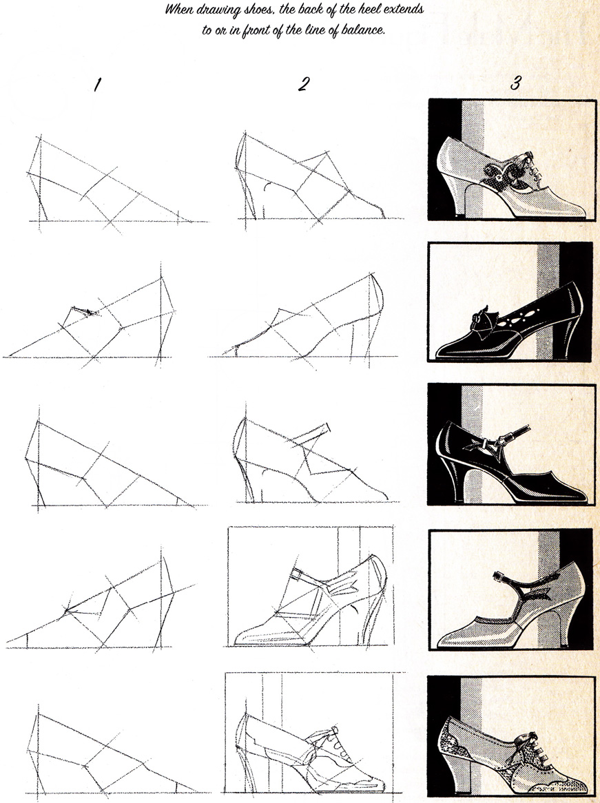 How To Draw Shoes Fashion Design