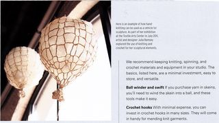 Knit balloons by julia ramsey