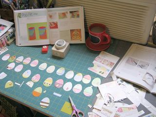 How to make paper easter egg decoration