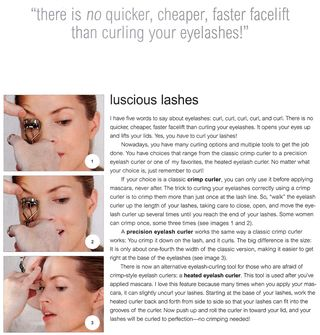 How to curl your eyelashes