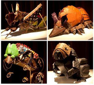 Wild cool animal purses