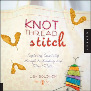 Knot thread stitch how to sew
