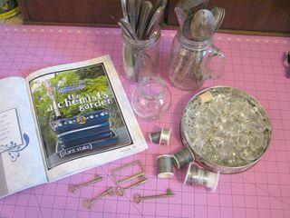 How to make a silverware photo display