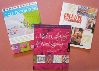 Cake decorating calligraphy books