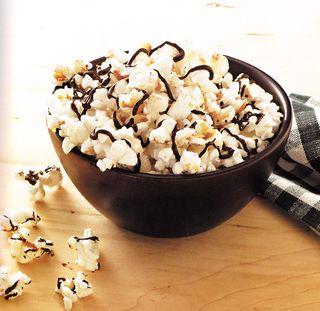 How to make chocolate covered popcorn recipe