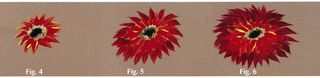 How to paint a dahlia flower