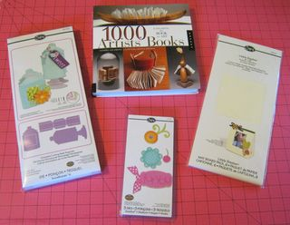 1000 artist books sizzix jar die cuts