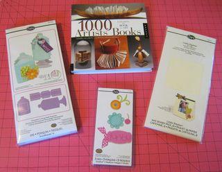 1000 artist books sizzix jar die cuts